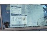 2012 Toyota Tundra SR5 TRD CrewMax 4x4 Window Sticker