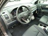 2011 Honda CR-V EX-L 4WD Black Interior