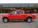2011 Race Red Ford F150 XLT SuperCrew 4x4 #54577629