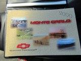 2000 Chevrolet Monte Carlo LS Books/Manuals
