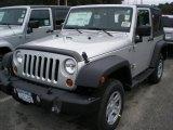2012 Bright Silver Metallic Jeep Wrangler Sport 4x4 #54577319