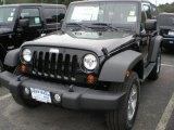 2012 Black Jeep Wrangler Sport S 4x4 #54577312