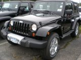 2012 Black Jeep Wrangler Sahara 4x4 #54577305