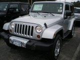 2012 Bright Silver Metallic Jeep Wrangler Sahara 4x4 #54577303