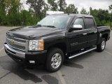 2011 Black Chevrolet Silverado 1500 LT Crew Cab #54577836