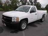2011 Summit White Chevrolet Silverado 1500 Regular Cab #54577835