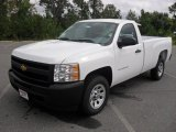 2011 Summit White Chevrolet Silverado 1500 Regular Cab #54577832