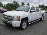 2011 Summit White Chevrolet Silverado 1500 LT Crew Cab 4x4 #54577830