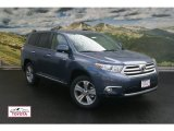 2012 Shoreline Blue Pearl Toyota Highlander Limited 4WD #54577274
