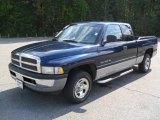2000 Patriot Blue Pearlcoat Dodge Ram 1500 ST Extended Cab #54577817