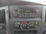 2002 Dodge Ram 1500 SLT Regular Cab Audio System