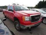 2007 Fire Red GMC Sierra 2500HD SLE Crew Cab 4x4 #54577258