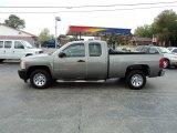 2009 Graystone Metallic Chevrolet Silverado 1500 Extended Cab #54577795