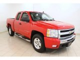 2009 Victory Red Chevrolet Silverado 1500 LT Extended Cab #54577792