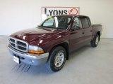 2003 Dark Garnet Red Pearl Dodge Dakota SLT Quad Cab #54576971