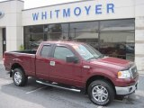 2006 Dark Toreador Red Metallic Ford F150 XLT SuperCab 4x4 #54577770