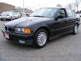 1995 Jet Black BMW 3 Series 325i Sedan #5437712