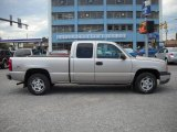 2004 Silver Birch Metallic Chevrolet Silverado 1500 Z71 Extended Cab 4x4 #54630553