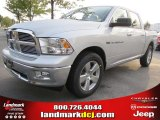 2012 Bright Silver Metallic Dodge Ram 1500 Big Horn Crew Cab #54630543