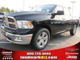 2012 Black Dodge Ram 1500 Big Horn Crew Cab #54630542
