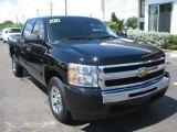 2010 Black Chevrolet Silverado 1500 LT Crew Cab #54631077