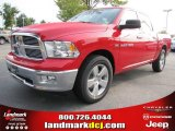 2012 Flame Red Dodge Ram 1500 Big Horn Crew Cab #54630540