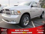 2012 Bright Silver Metallic Dodge Ram 1500 Sport Crew Cab #54630539