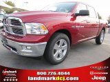 2012 Deep Cherry Red Crystal Pearl Dodge Ram 1500 Big Horn Crew Cab #54630538