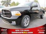 2012 Black Dodge Ram 1500 Express Quad Cab #54630528