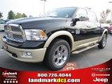 2012 Black Dodge Ram 1500 Laramie Longhorn Crew Cab #54630527
