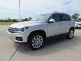 2012 Volkswagen Tiguan White Gold Metallic