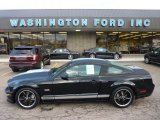 2007 Black Ford Mustang Shelby GT Coupe #54630771