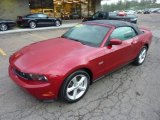 2012 Ford Mustang GT Convertible Data, Info and Specs