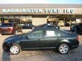 2010 Atlantis Green Metallic Ford Fusion SE #54630763