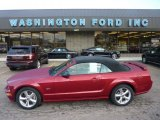2007 Redfire Metallic Ford Mustang GT Premium Convertible #54630762