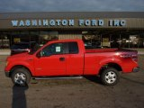 2011 Race Red Ford F150 XLT SuperCab 4x4 #54630761