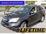 2009 Crystal Black Pearl Honda CR-V EX-L 4WD #54630451