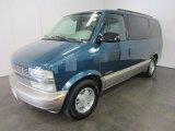 2001 Chevrolet Astro LS Passenger Van Front 3/4 View