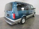 2001 Chevrolet Astro Medium Cadet Blue Metallic