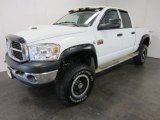 2008 Bright White Dodge Ram 3500 TRX4 Quad Cab 4x4 #54630750