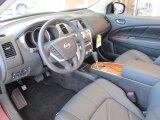 2011 Nissan Murano CrossCabriolet AWD Black Interior