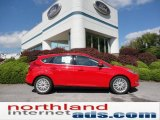 2012 Race Red Ford Focus SEL 5-Door #54630420