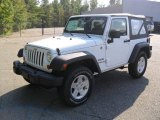 2012 Bright White Jeep Wrangler Sport S 4x4 #54630959