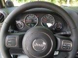 2012 Jeep Wrangler Sport S 4x4 Steering Wheel