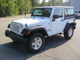 2012 Bright White Jeep Wrangler Sport S 4x4 #54630958
