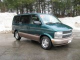 Forest Green Metallic Chevrolet Astro in 1998