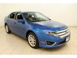 2011 Blue Flame Metallic Ford Fusion SEL V6 #54630942