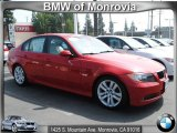 2008 Crimson Red BMW 3 Series 328i Sedan #54630683