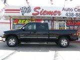 1999 Onyx Black Chevrolet Silverado 1500 LS Z71 Extended Cab 4x4 #5441570