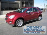 2010 Cardinal Red Metallic Chevrolet Equinox LTZ AWD #54630916